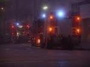 Feuerwehr-Nachteinsatz