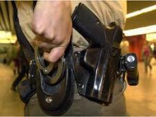 Polizei-Waffe