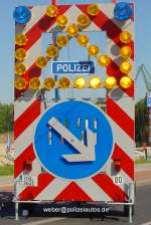 Sicherungsanhanger-Polizei