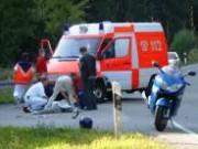 Rettungsdienst-Motorrad