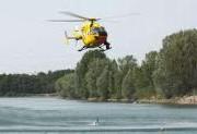 Rettungshubschrauber-See