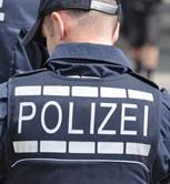 Polizist-Rucken