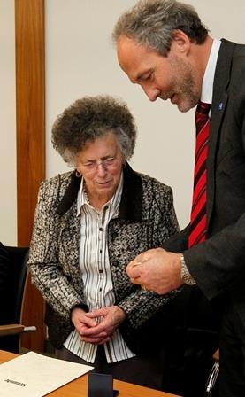 Pflegemedaille Rosa Kustermann
