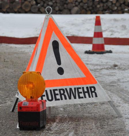 Gefahrstelle blitzer schnee