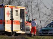 polizei rettungswagen sonne
