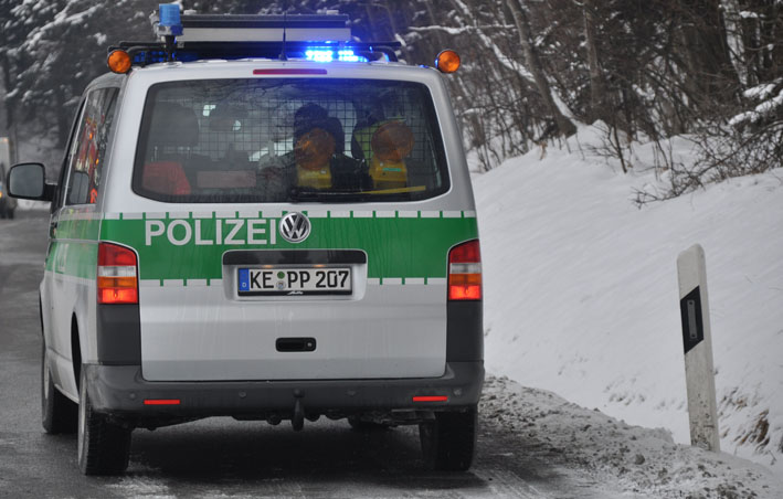 polizei winter strasse