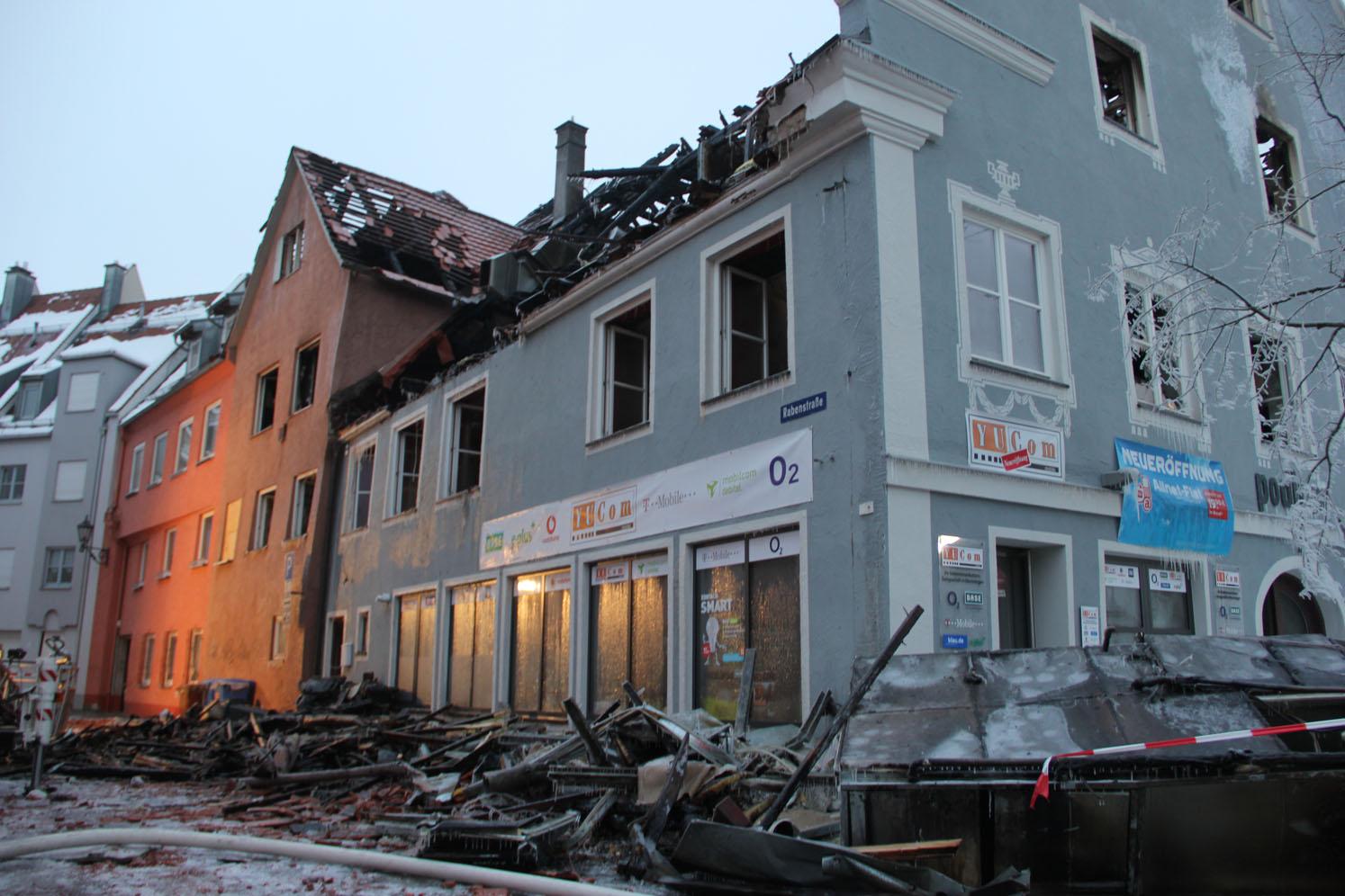 23-01-2013 Brand wohn-undgeschaeftshaus memmingen new-facts-eu20130124 1760