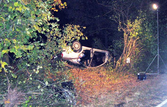 28-10-2007 oelfleck verkehrsunfall polizei-foto new-facts-eu