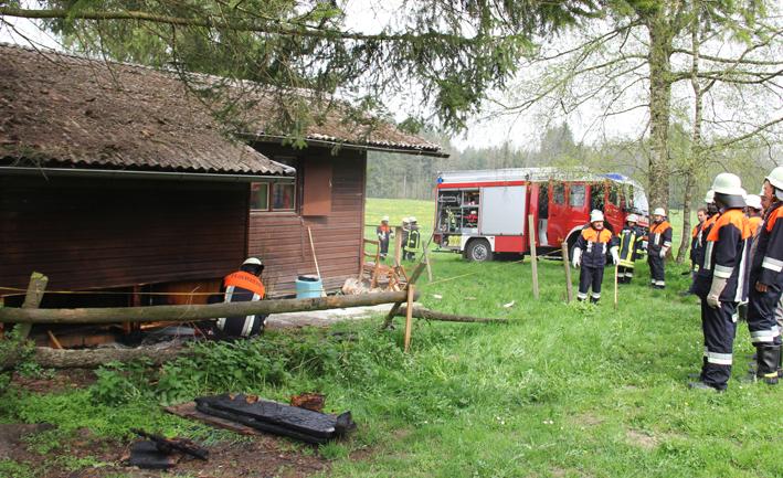 01-05-2013 unterallgäu lachen eymühle brand-gartenlaube feuerwehr-lachen pöppel new-facts-eu20130501 titel