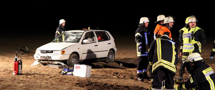 05-05-2013 ettenbeuren egenhofen unfall überschlag schwerverletzte rettungshubschrauber obeser new-facts-eu20130505 titel