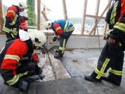 24-05-2013 blaubeuren ulm krankenhaus dehnfuge brand feuer feuerwehr rettungsdienst zwiebler new-facts-eu20130524 titel