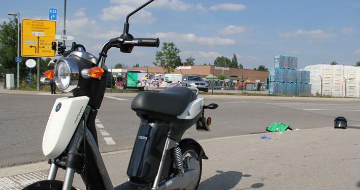 09-07-2013 unterallgau mindelheim kleinkraftrad unfall poeppel new-facts-eu