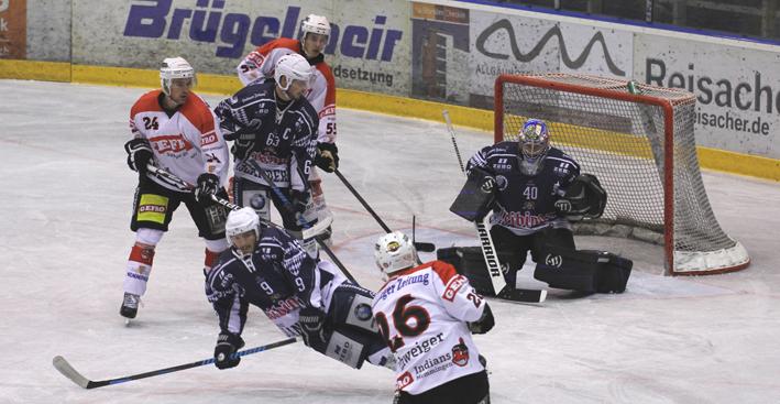 03-11-2013 memmingen eishockey indians ecdc ev-lindau niederlage fuchs new-facts-eu20131103 titel
