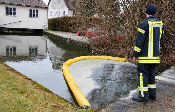 Ottobeuren 214 Lfilm Auf Der Boschach Feuerwehr Errichtet