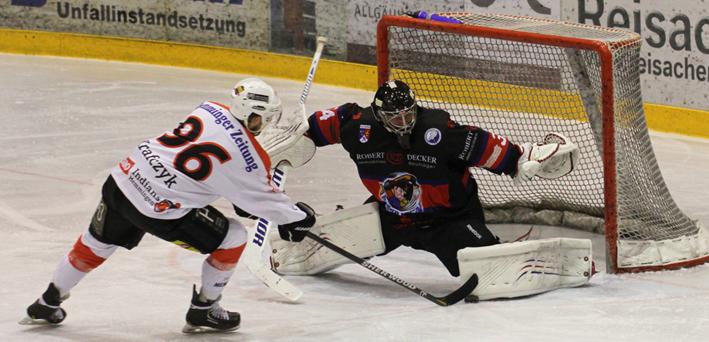 14-02-2014 memmingen eishockey idians ecdc playoff dorfen fuchs new-facts-eu20140214 TITEL
