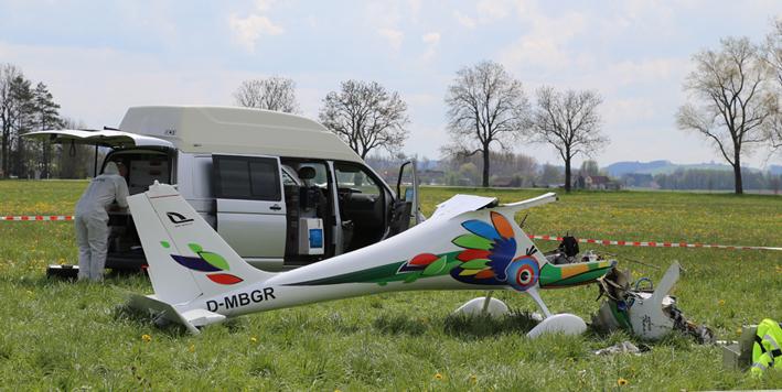 Ultraleichtflugzeug Absturz Heute