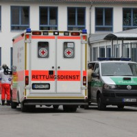 Ettringen - Mann verschanzt sich in Einfamilienhaus nahe der Schule