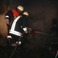 Beuren Garagenbrand
