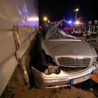 LKW Unfall A8 Burgau-GZ
