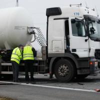 LKW Unfall Part1 A7 FR Süd b Hitistetten