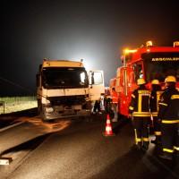 LKW Unfall A7 Hitistetten Part2