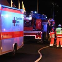 Illertissen - Zimmerbrand in Mehrfamilienhaus - sechs Verletzte - hoher Sachschaden