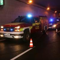 Ulm Unfall im Westringtunnel