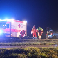 B16-Ichenhausen - Fußgänger von Pkw erfaßt - tödlicher Ausgang