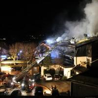 "Oberstdorf - Grossbrand im Hotel ""Zur Traube"""