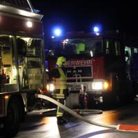 Tussenhausen - Großbrand Recyclinganlage