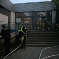 Ulm Brand im Westbad