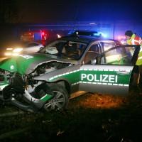 Neu-Ulm, Unfall bei Einsatzfahrt