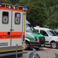Fellhorn - Bergung der tödlich verunglückten 23-jährigen Israelin