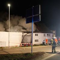 BaWü/Steinberg, Scheunenbrand