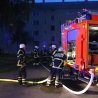 Memmingen - Kellerbrand in Mehrfamilienhaus mit acht Verletzten