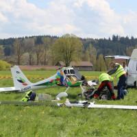 Unterzeil - Pilot stirbt bei Absturz eines Ultraleuchtflugzeuges