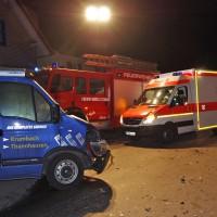 Thannhausen - Schwerer Verkehrsunfall in den frühen Morgenstunden in der Stadtmitte