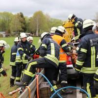 B12-Kempten - Schwerer Verkehrsunfall auf Bundesstraße