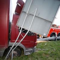 LKW Unfall Neu-Ulm, B 28