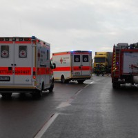 NU Gerlenhofen, 3 Verletzte Frontal-VU