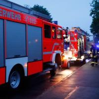 BY/günzburg Hochhaus evakuiert wg Wohnungsbrand