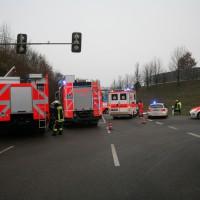 Günzburg B 16, Fehler beim Einbiegen