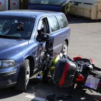 Sulzberg - Pkw-Lenker übersieht Kradfahrer - Motorradfahrer schwer verletzt