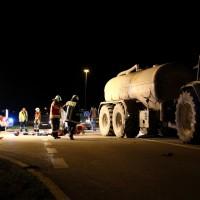 B10-Burgau - Kradfahrerin bei Motorradunfall schwer verletzt