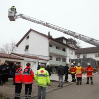 BaWü/Hochdorf Krs BC, E§xplosion Wohnhaus