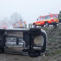 Witzighausen/WeissenhornP P KW von Strasse gerutscht