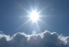 Sonne Wolken Wärme