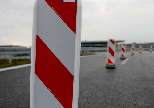 Autobahn-Baustelle, über dts Nachrichtenagentur