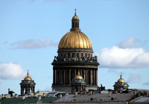 Isaakskathedrale in Sankt Petersburg, über dts Nachrichtenagentur