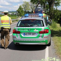 Betzigau - Pkw-Fahrerin landet mit Fahrzeug schwer verletzt im Bach